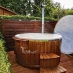 Hot tubs mit Glasfasereinsatz