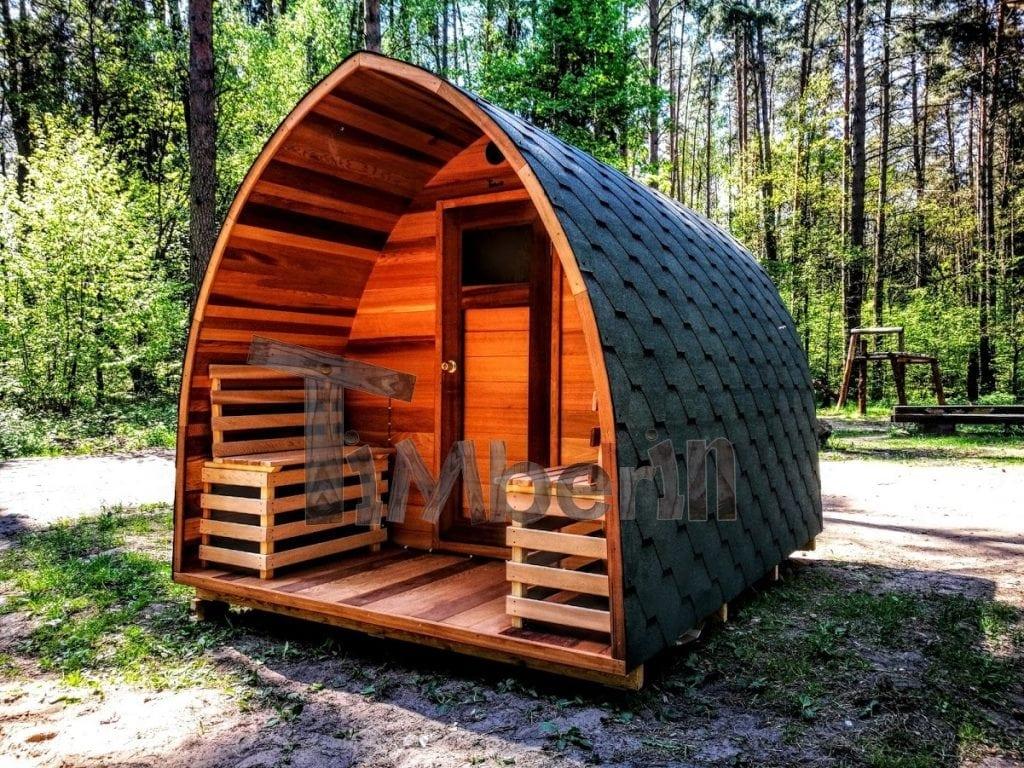 Outdoor Garten Holz Sauna Fasssauna Aussensauna Rote Zeder Mit ...