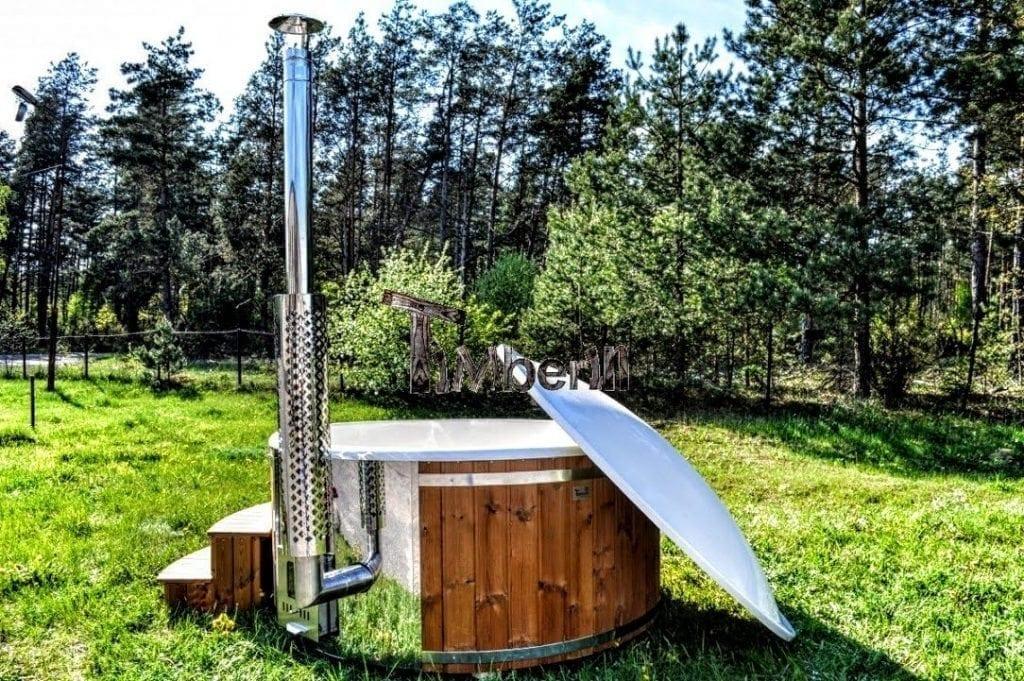 Badetonne-Badezuber-Badebottich-Badefassfinnisch-mit-Holzofen Projekte