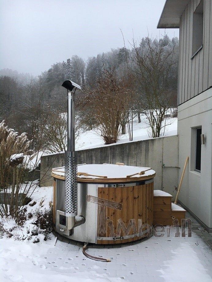 Aussenwhirlpool Mit Integriertem Ofen, Wellness Royal, Heiko, Aetingen, Schweiz (7)
