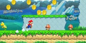 Super Mario Run megaslide