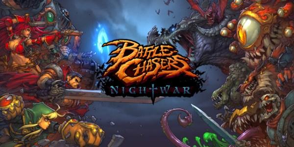 Battle Chasers: Nightwar banner