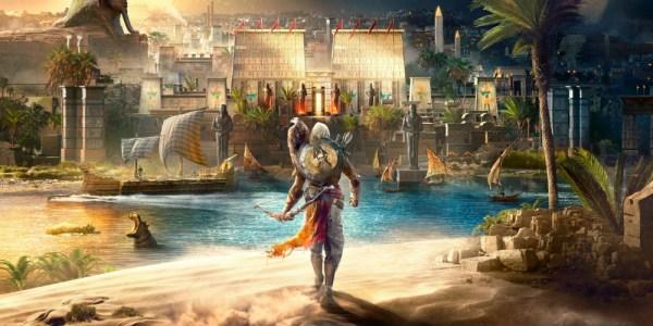 Assassin's Creed Origins megaslide