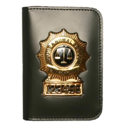 Recessed Badge Id Cases Badge And Wallet