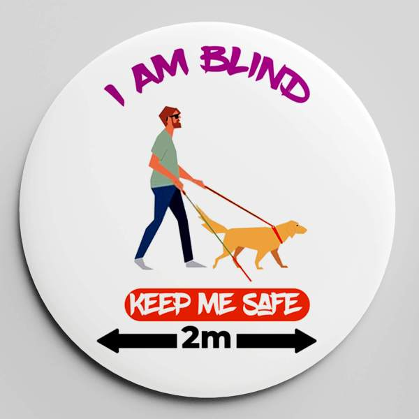 KEEP ME SAFE BADGE