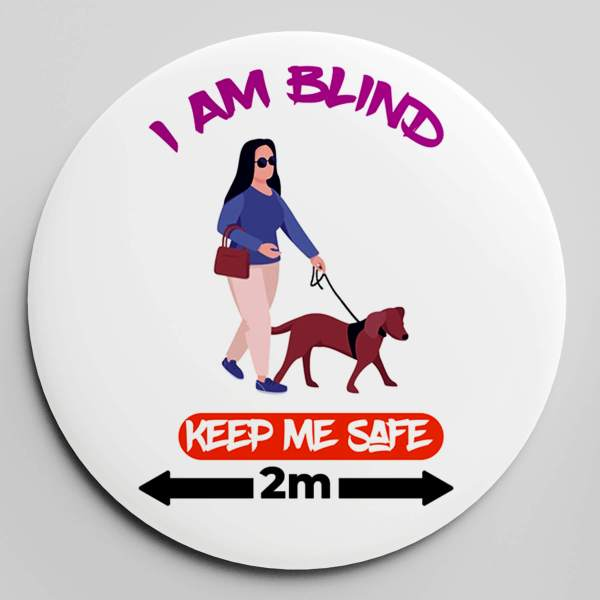 KEEP ME SAFE BADGE (FEMALE)