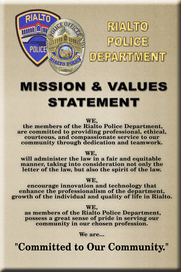Ethics Mission Statements Core Values Vision Statements