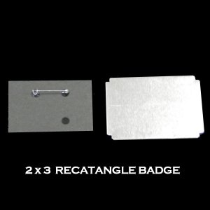 2x3 Rectangle Badge
