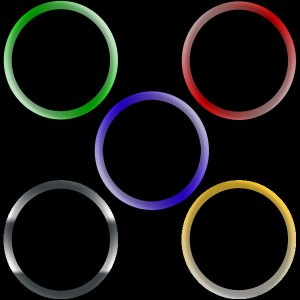 Mylar Rings