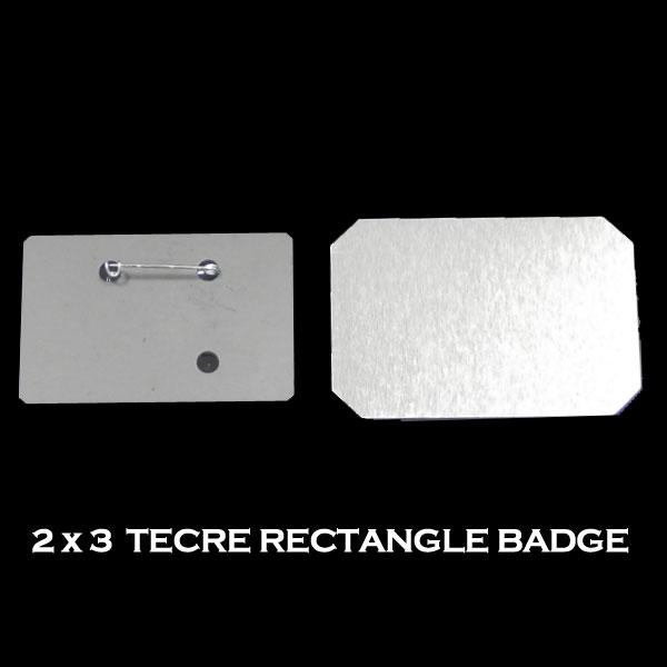 Tecre Rectangle Badge