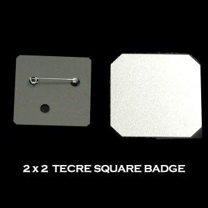 2x2 Tecre Square Badge