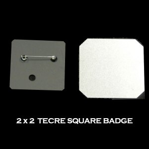 2x2 Tecre Square Badge