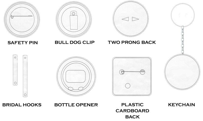 Button Backs Guide