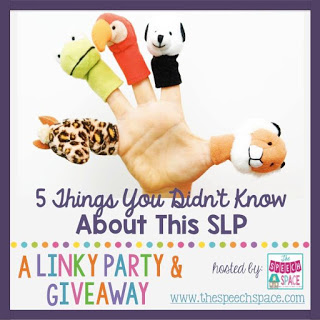 Five Things You Don't Know about Me! Linky!
