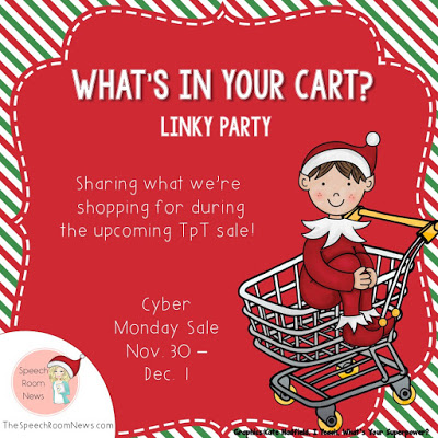 What's in your cart??  (Take a bite out of your wish list) Linky!!