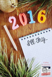 In 2016, I'll try….