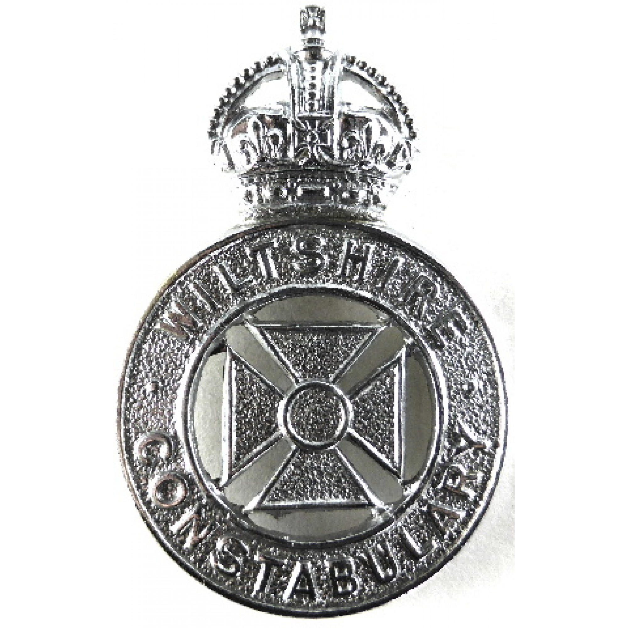 Wiltshire Constabulary Pre Chrome Cap Badge