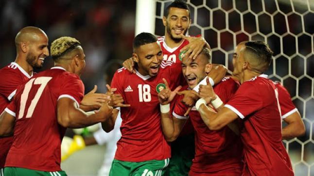 المنتخب المغربي ينتصر ويضع قدما في نهائيات كأس إفريقيا