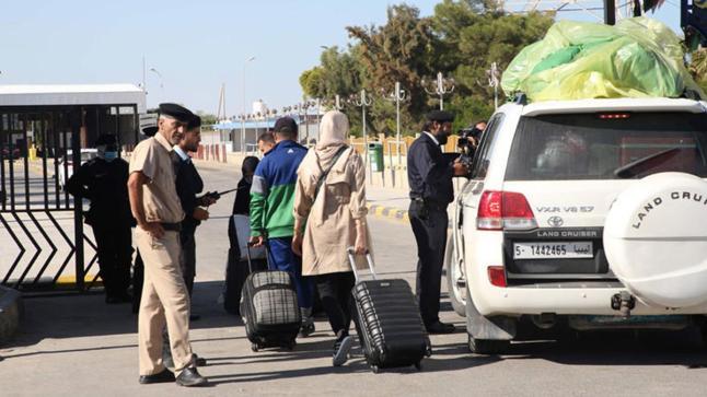 فتح الحدود بين ليبيا وتونس مجددا