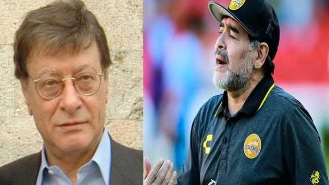 محمود درويش يخص مارادونا بمقال مثير