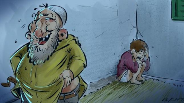 قاصر يتعرض للاغتصاب والمشتبه به فقيه