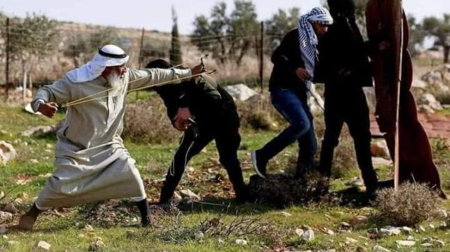 قوات الاحتلال الإسرائيلي تعتقل الشيخ المسن سعيد العرمي