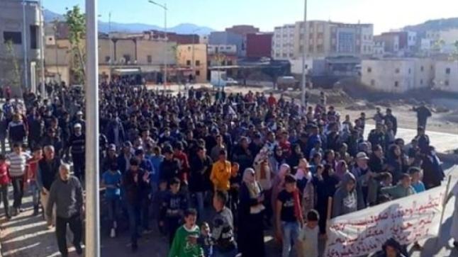 """""""تماسينت"""" احتقان واحتجاجات يومية"""