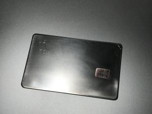 Apple Card No Paint - Front