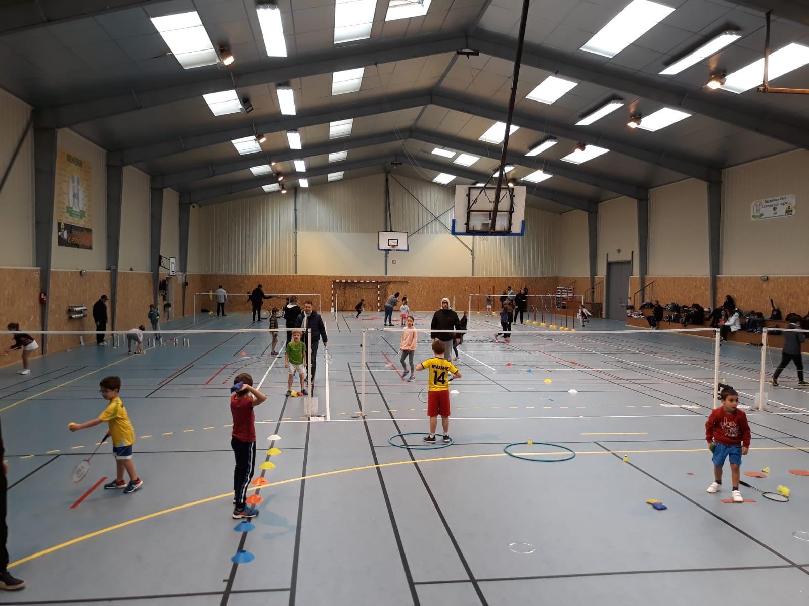 badminton club corcoue sur logne