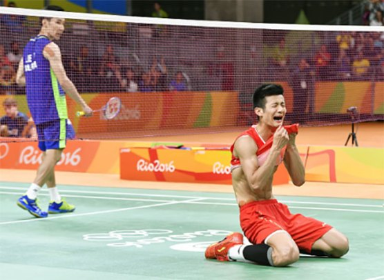 Image result for lee chong wei olympic 2016