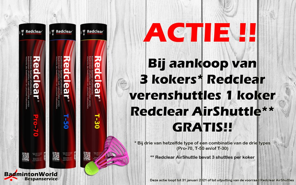 ACTIE!! Redclear shuttles
