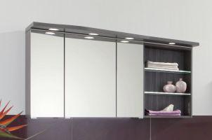 Puris Swing Spiegelschrank 140 cm breit SET41143R   Badmöbel 1