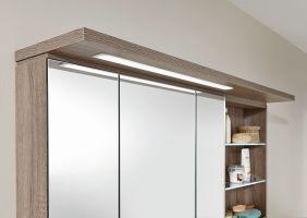 Puris Swing Spiegelschrank 140 cm breit SET41142R   Badmöbel 1