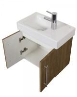 Badezimmer Unterschrank für Keramag Icon XS 53 cm nussbaum ...