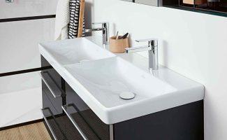 Doppelwaschbecken im Bad oder einzelnes Spülbecken Was ...