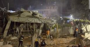 المكسيك : زلزال ضخم يسقط المباني