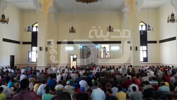 مسجد الرضوان من الداخل