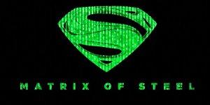matrix of steel banner
