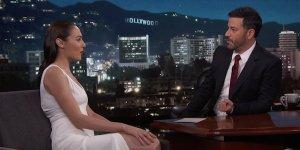 Gal Gadot Jimmy Kimmel Wonder Woman