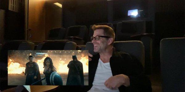 zack snyder batman superman veo