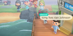 Animal Crossing Rian Johnson