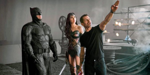 zack snyder on set zack snyder's justice league