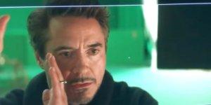 Robert Downey Jr avengers Endgame
