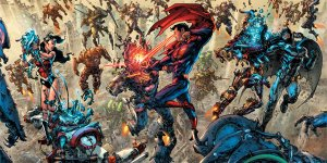 Darkseid War, variant covers di Kim Jung Gi