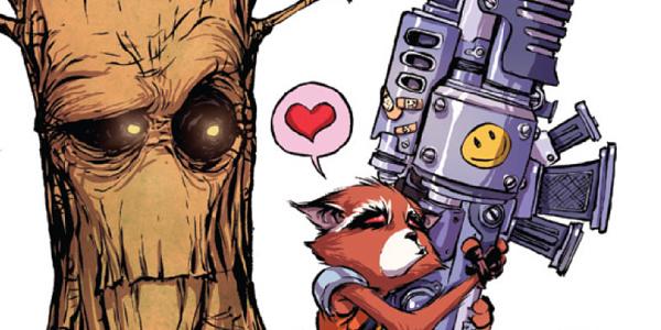 Rocket Raccoon and Groot #5 ico