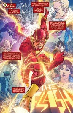 The Flash: Rebirth #1, anteprima 06