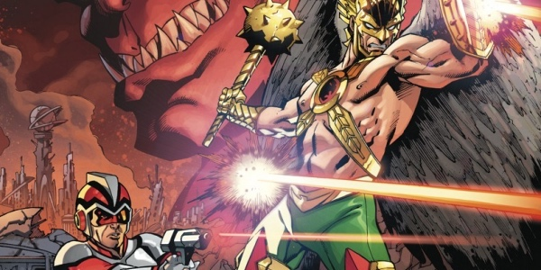 Hawkman and Adam Strange: Out of Time