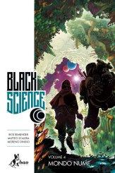 Black Science vol. 4: Mondo Nume, copertina di Matteo Scalera