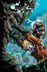 Aquaman #8, copertina di Brad Walker