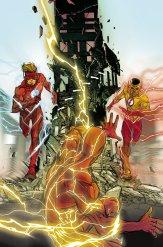 The Flash #9, copertina di Carmine Di Giandomenico